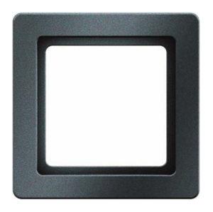 Контрастная рамка, цвет: антрацитовый, бархат, Q.1 Berker