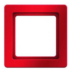 Рамкa, цвет: красный, бархат, Q.1 Berker