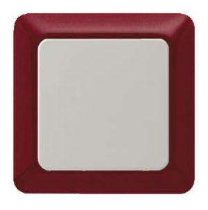 Рамкa, цвет: красный, с блеском modul 2 berker