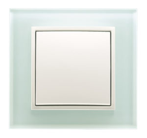 Стеклянная рамка , цвет: полярная белизна B.7 Glas Berker