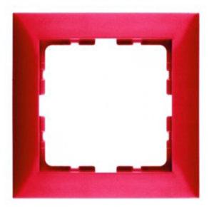 Рамкa, цвет: красный, с блеском S.1 Berker