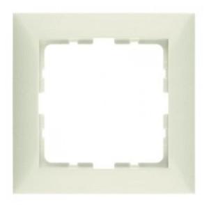 Рамкa, цвет: белый, с блеском S.1 Berker
