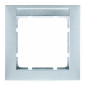 Рамка с полем для надписей, цвет: полярная белизна, матовый S.1 Berker
