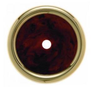 Декоративная оконечная накладка для поворотных выключателей/кнопок, цвет: коричневый Berker Palazzo