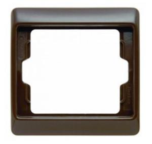 Рамкa, цвет: коричневый, с блеском Berker Arsys