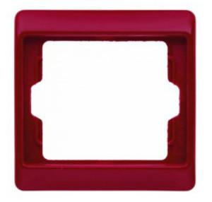Рамкa, цвет: красный, с блеском Berker Arsys