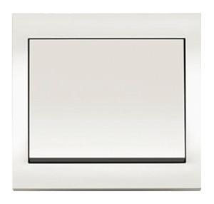 Рамкa, цвет: белый, с блеском K.1 Berker
