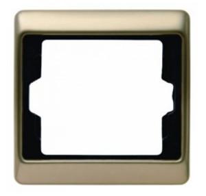 Рамкa, цвет: светло-бронзовый, металл Berker Arsys