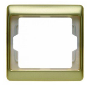 Рамкa, цвет: золотой, металл Berker Arsys