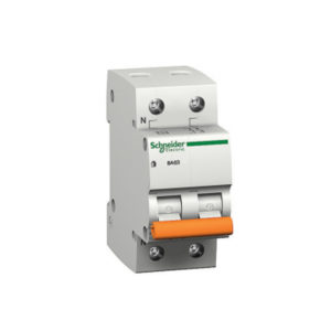 Автоматический выключатель ВА63 1П+Н