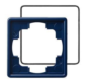 Рамка, синия с уплотнительной вставкой Gira S-color